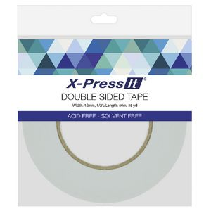 X-Press It Double Sided Tape 12mm x 50m