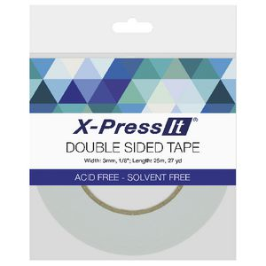 X-Press It Double Sided Tape 3mm x 25m