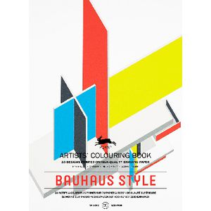 What Is Bauhaus Style pepin artist colouring book bauhaus style officeworks
