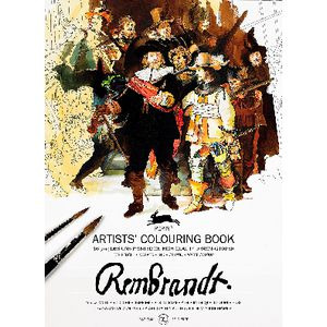 Pepin Artist Colouring Book Rembrandt Paintings