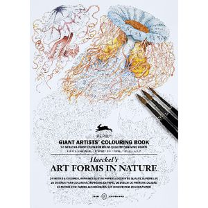 Pepin Giant Colouring Book Artforms in Nature