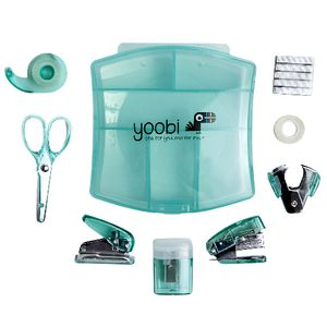Yoobi Mini Stationery Set Aqua