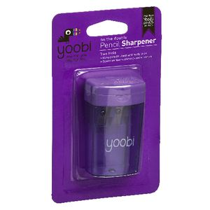 Yoobi 2 Hole Pencil Sharpener Purple