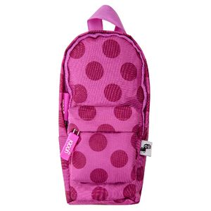 Yoobi Backpack Pencil Case Dot Pink