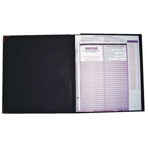 Zions Corporate Visitor Register Kit