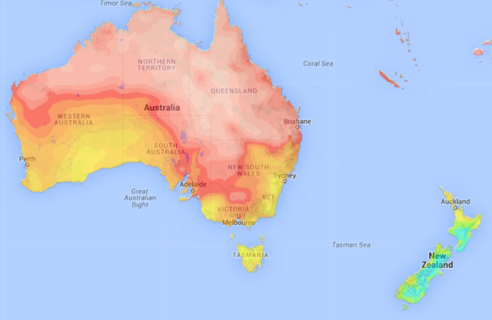 Australia Vs New Zealand Weatherwatch New Zealand S Weather News Authority