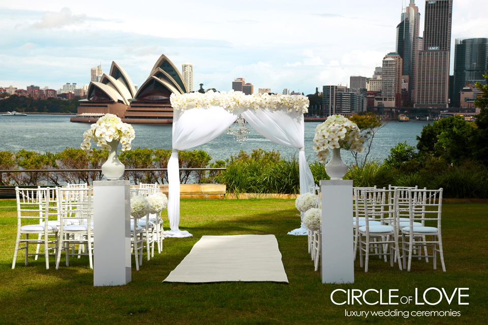 Circle of love sydney wedding hire chair hire wedding decorations wedding arch floral arch junglespirit Choice Image