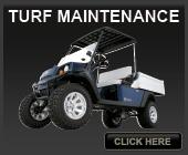 EZGO and Cushman Turf Maintenance Vehicles