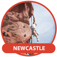 Christmas Party Hire Newcastle - Mobile Rock Climbing Wall