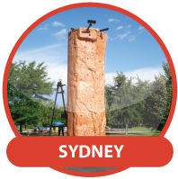 Christmas Party Hire Sydney - Mobile Rock Climbing Wall