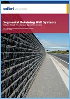 segmental retaining wall systems pamphlet