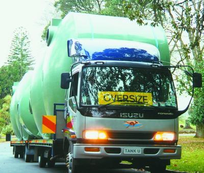 Rainwater tank delivery in Queensland