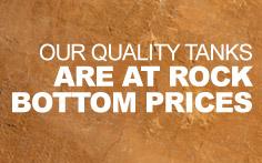 Quality Rainwater tanks at Rock Bottom Prices in Brisbane