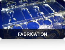 plastic fabrication, laser cutting, router cutting, thermo forming, vacuum forming