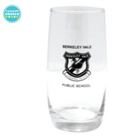 Promotional branded drinking glass