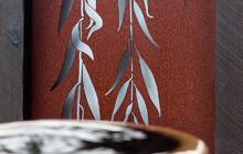 Entanglements metal wall art
