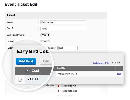flexible ticketing