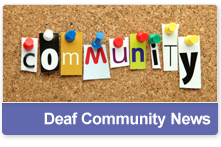 Deaf Community News