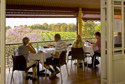 Restaurant as part of wine tour in Newcastle