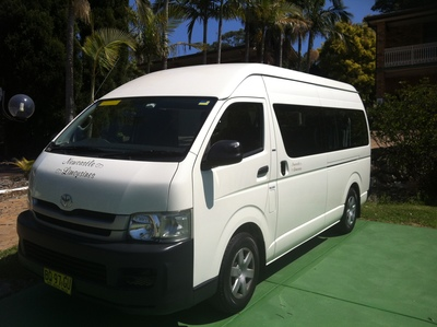 Mini bus hire from Newcastle