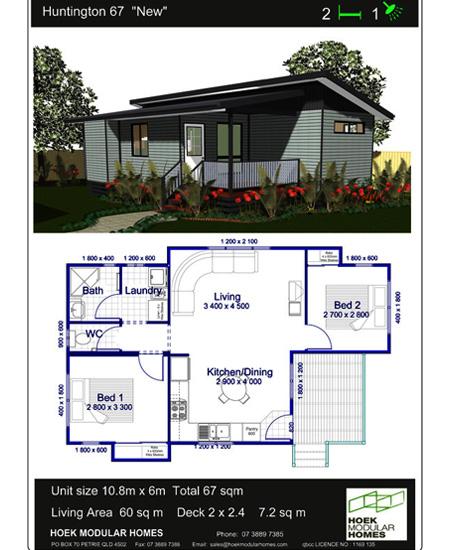 "Huntington 67 ""New"" Home Design"