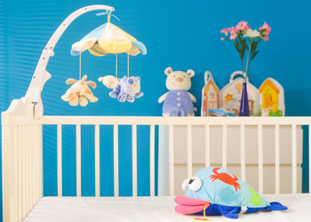 Baby Bed and Toys