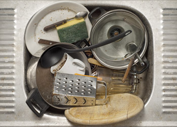 Dirty Dishes and Stubborn Stains