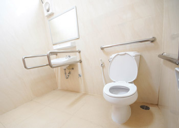 Bathroom With Handrails