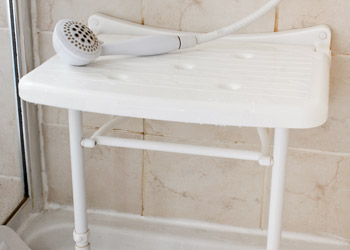 Handheld Shower On Stool
