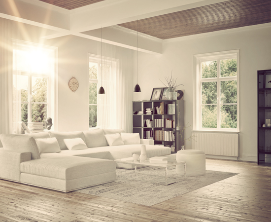 Modern Modular Home Interior