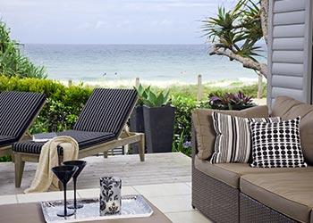 Colour Scheme Beach Theme Outdoor Deck