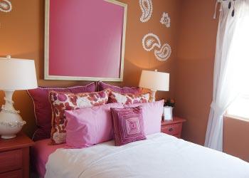 Colour Scheme Pink Theme Bedroom
