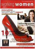 Working Women Magazine cover winter 2007