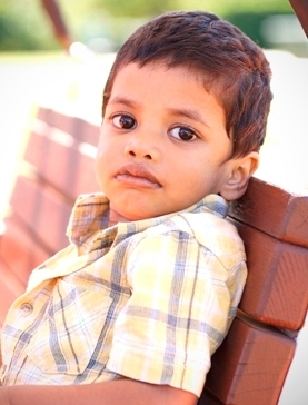Help us to help kids like Sunil