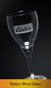 Glassware etching, Etching glass, Logos etched in glass, logo on wine glass
