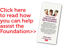 Click here to read how you can assist the foundation