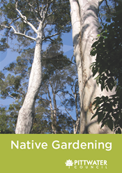 Native gardening booklet pittwater