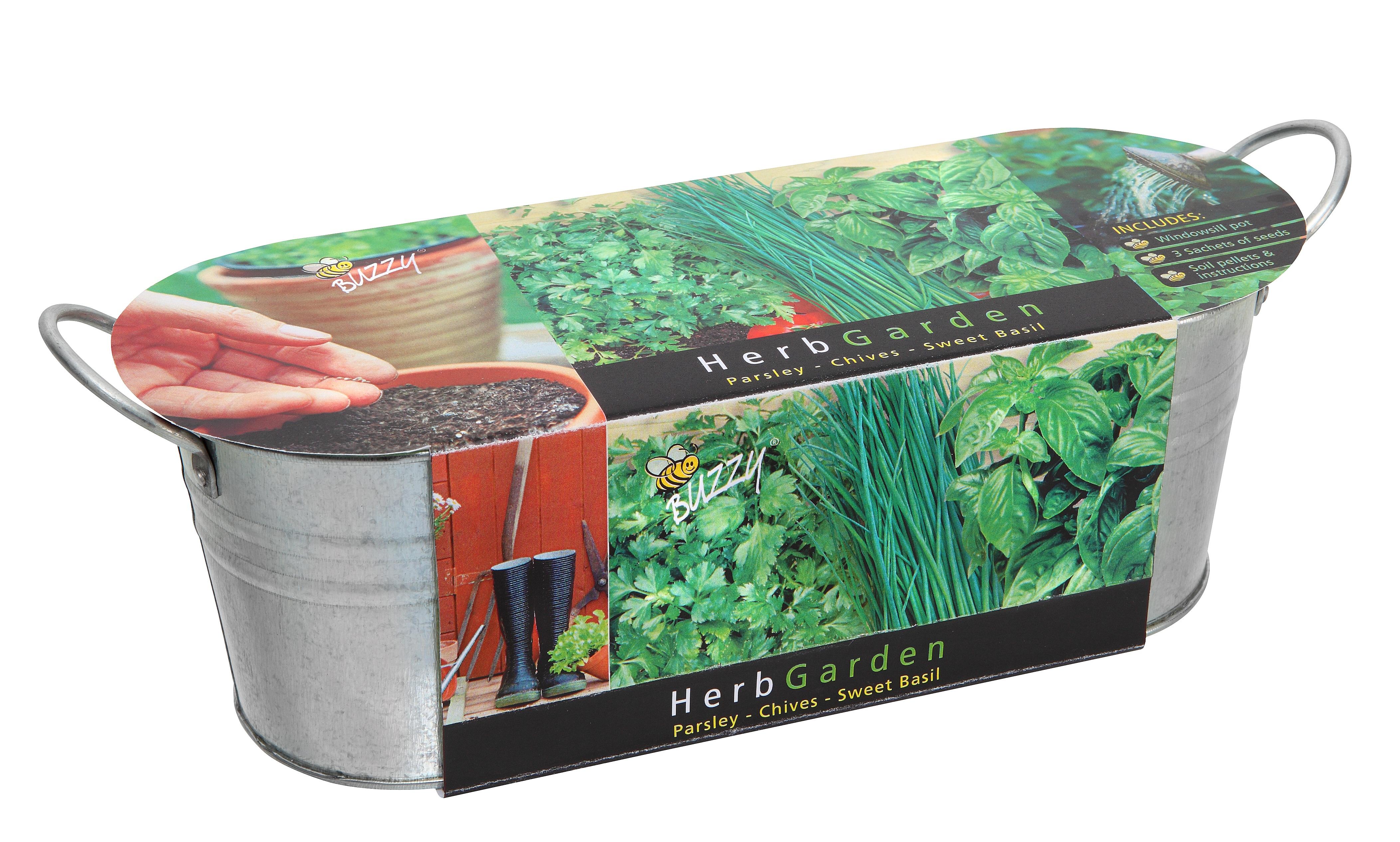 Windowsill Herb Garden Kit Australia