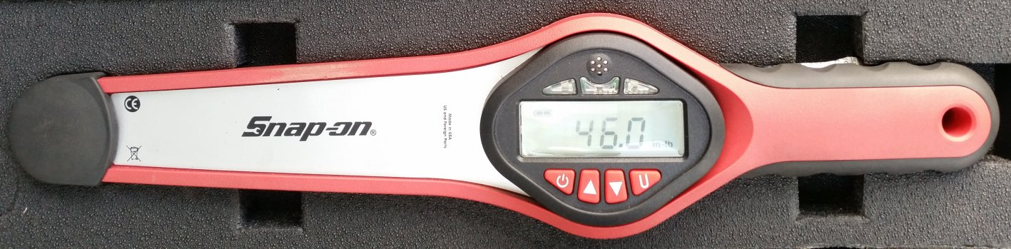 Snap on Digital Torque Wrench Checking Preload