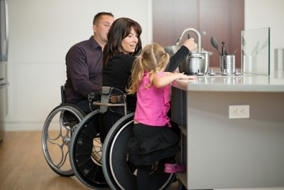 Wheelchair accessible kitchen and appliances