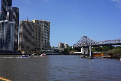 Brisbane River cruise, Story bridge