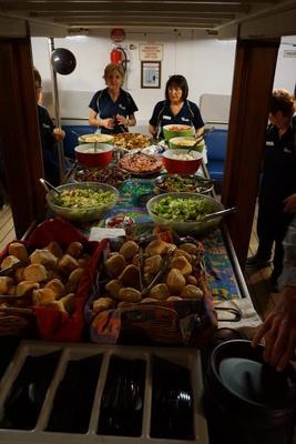 Buffet Meal on Lady Brisbane, Function on Lady Brisbane boat, Brisbane Cruises