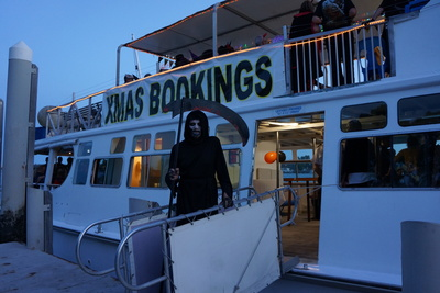 Halloween St Helena by Night Tour, Brisbane Cruises