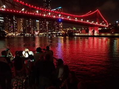 Story Bridge, Christmas party cruise on Lady Brisbane
