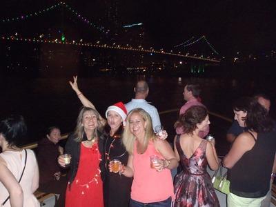 Christmas party fun on Lady Brisbane boat