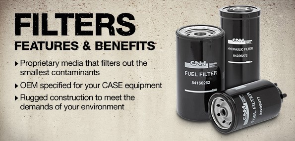Filters for earthmoving Equipment and Machines