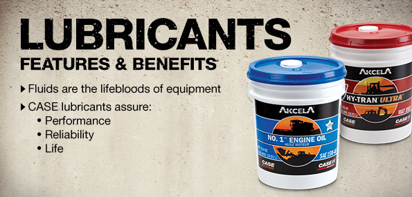 Case Lubricants for Earthmoving machine and equipment