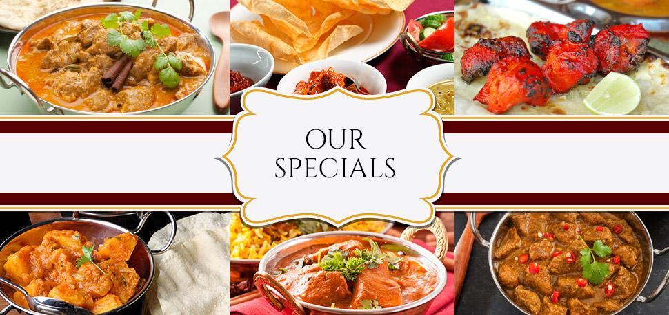 Indian Restaurant Campbelltown Menu