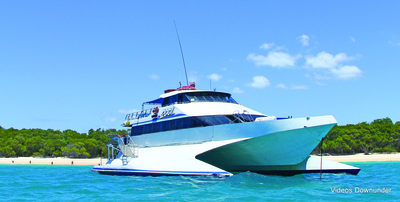 MV2001 - modern wave piercer catamaran