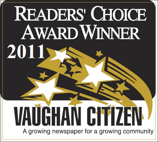 The Dance Zone readers choice award 2011 for best dance studio Vaughan